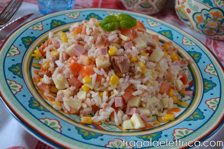 Insalata di riso / Rice salad