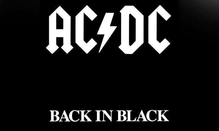 8. AC/DC: 'Back In Black' (1980) Sänger Bon Scott stirbt im Rausch, und AC/DC…
