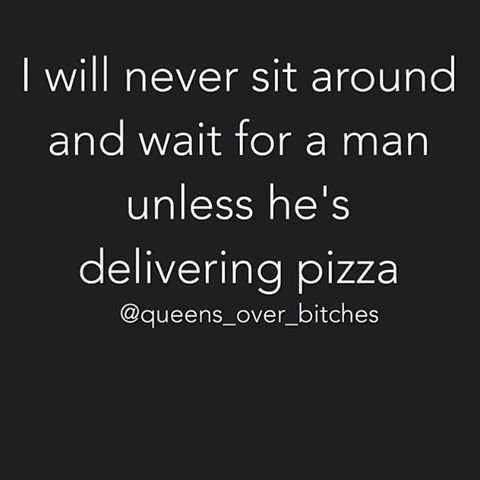 or delivering something I ordered online, of course :)