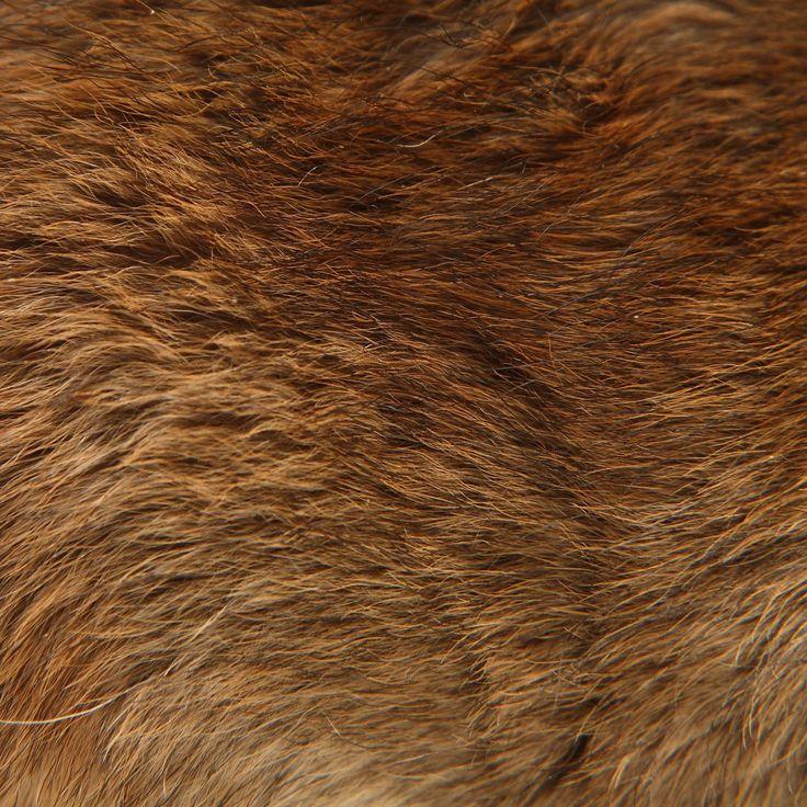 how to draw bear fur
