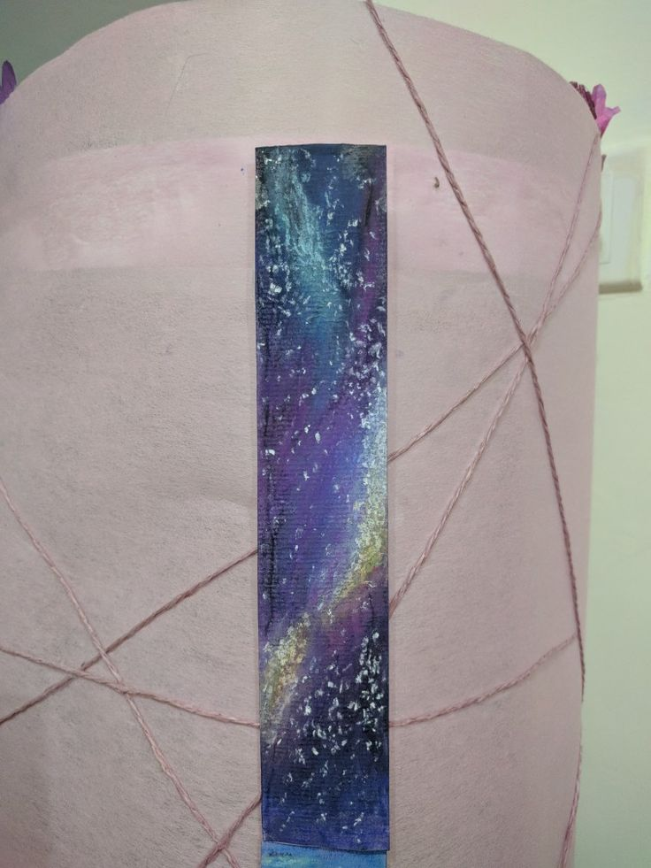 #bookmarkdiy #diy #softpastelgalaxy