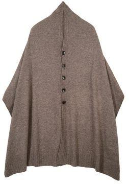 cape+ oversized scarf/ ShopStyle(ショップスタイル): sunaokuwahara  ヤクニットマフラー  ストール - shopstyle.co.jp