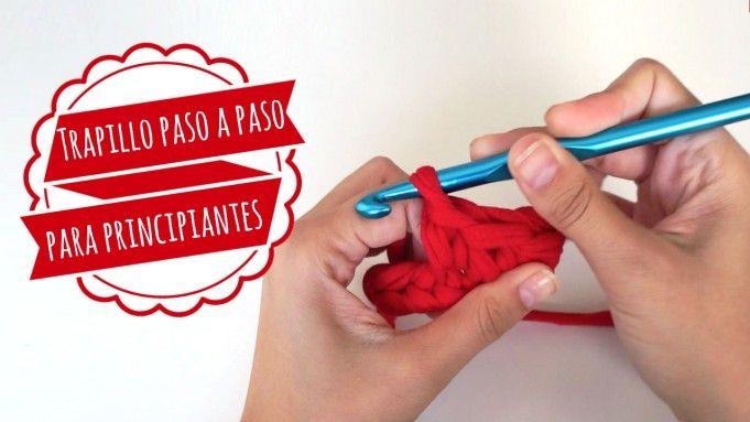Trapillo Paso a Paso para Principiantes- Puntos Básicos - Videotutorial en Español aquí: http://www.missdiy.es/trapillo-paso-paso-para-principiantes-puntos-basicos/