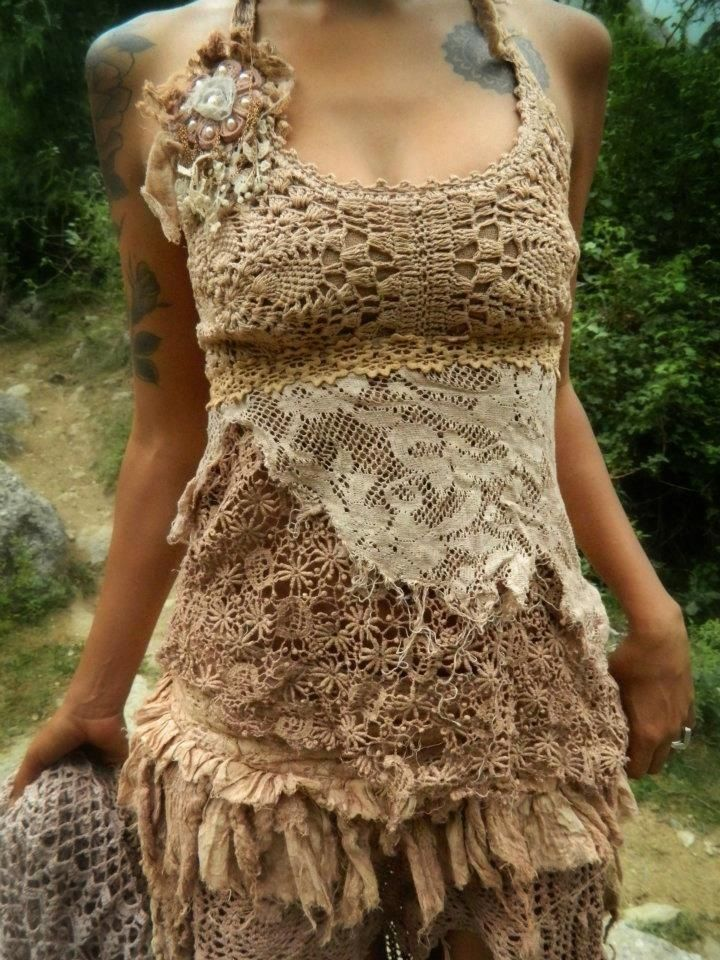 Jungle Gypsy Fashion, look at this combination... ♥♥♥