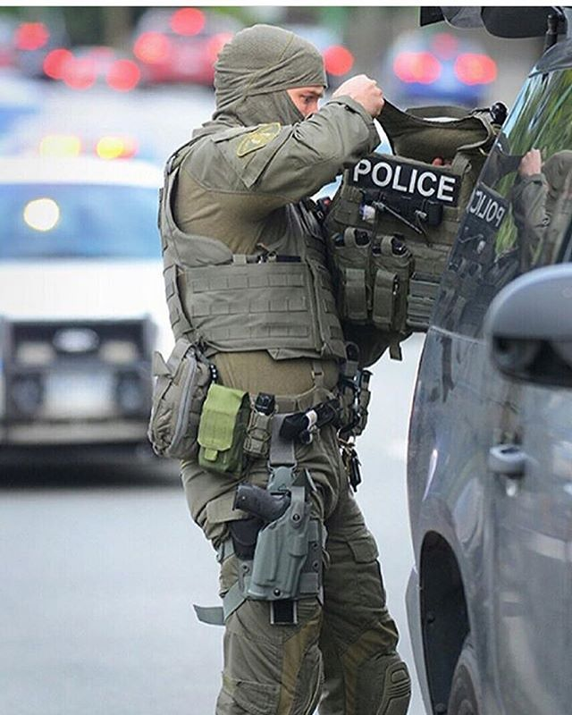 RCMP ERT #BackTheBlue #BlueLivesMatter ____ #Canada #CanadianForces…