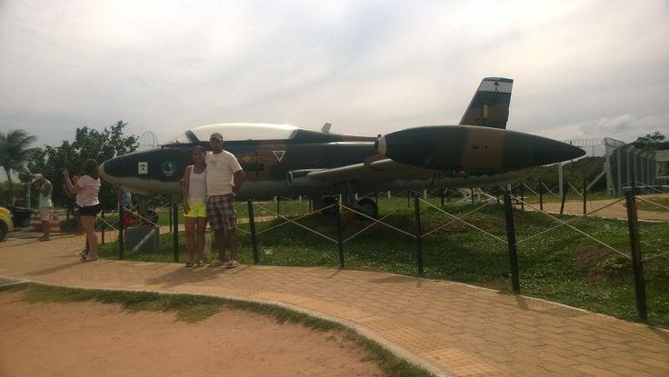Natal, antigo local de lançamento de míssil de teste. Centro de Lançamento dá Barreira do inferno - RN