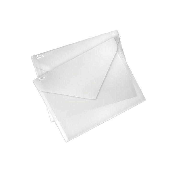 Sizzix Plastic Envelopes 9x11.75