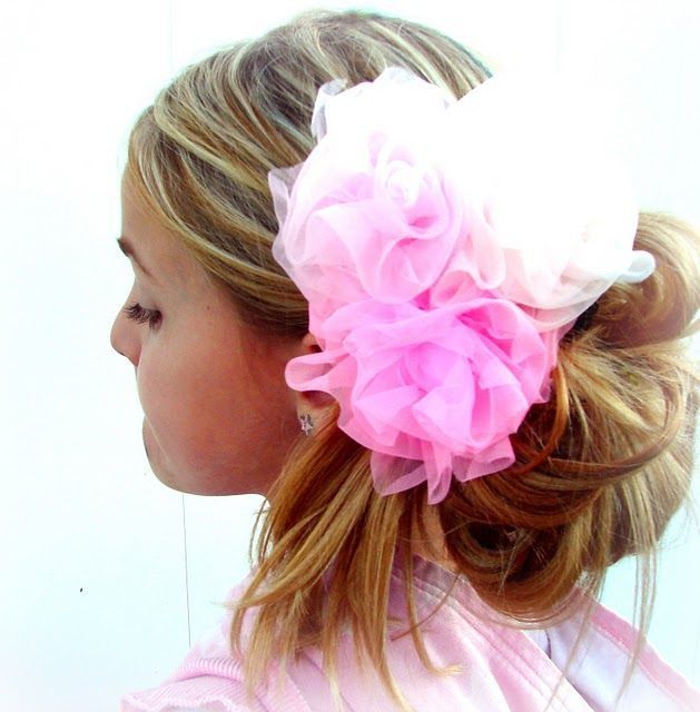 how to make hair accessories with fabric