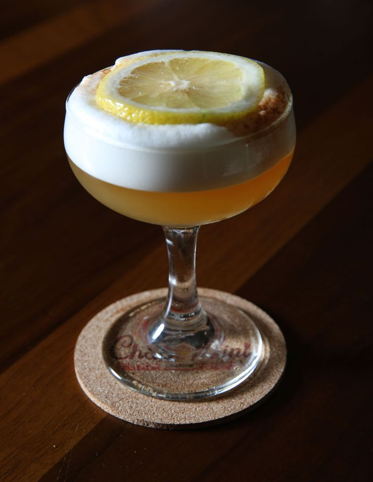 Sullivan Street Sour - Best Summer Cocktails - Summer Cocktail Recipes - Town & Country
