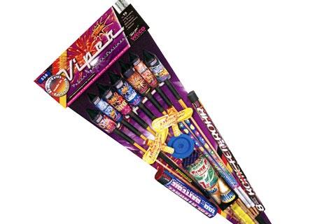 Viper Familien-Feuerwerksortiment von Weco II - Der Feuerwerk Shop