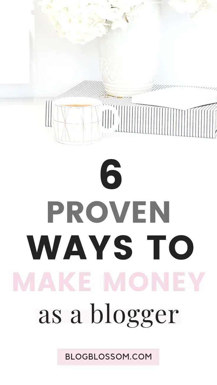 6 Ways To Make Money Blogging Online In 2019 – BASICS BY BECCA | CONTENT CREATOR
