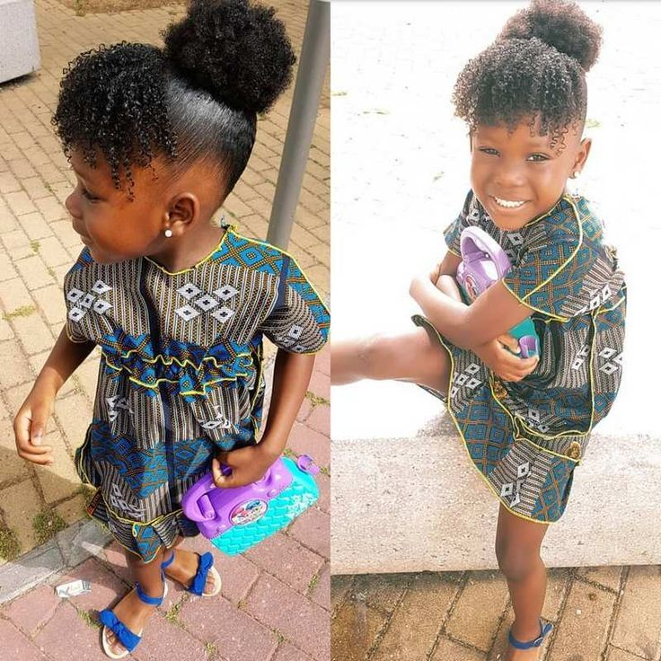 Beautiful Curls And A Bun Is Giving This Little Cute Girl An Unpredictable Shine Haarformen Haar Trends Coiffure Fillette Cheveux De Bebe Coiffures Pour Enfant
