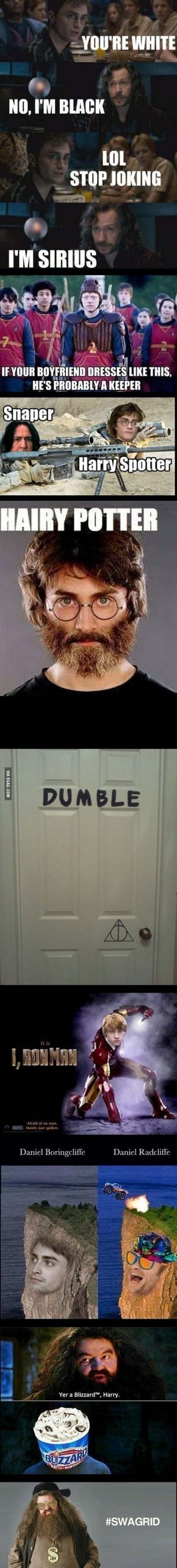 Harry Potter Puns and Memes So Dumb You'll Feel Bad For Laughing [Funny - Humor - 9gag]