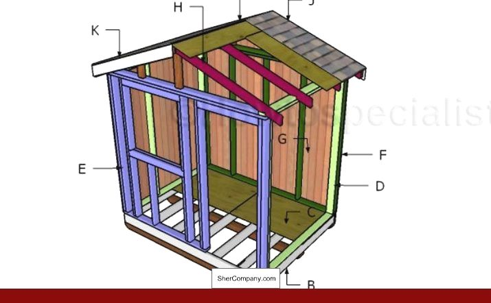 Simple Bike Shed Plans And Pics Of Storage Building Plans And Materials List Tip 79255710 Shedplans Storagesheds Diy Shed Plans Wood Shed Plans Shed Design