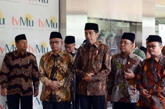 Covesia.com - Presiden Joko Widodo melakukan silaturahim kepada para peserta Musyawarah Nasional Ke VIII Lembaga Dakwah Islam Indonesia (LDII) membahas tentang...