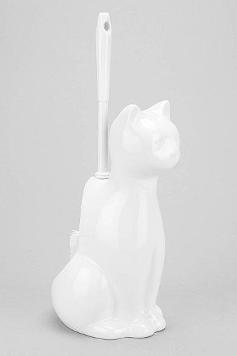 Cat Toilet Brush Holder - Urban Outfitters