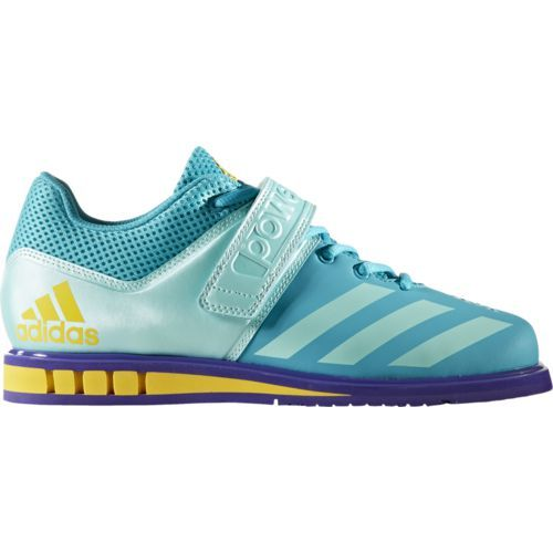 Adidas Women's Powerlift.3.1 Weight Lifting Shoes (Aqua or Turquoise Light/Dark Aqua or Turquoise, Size 9) - Women's Training Shoes at Academy Sports