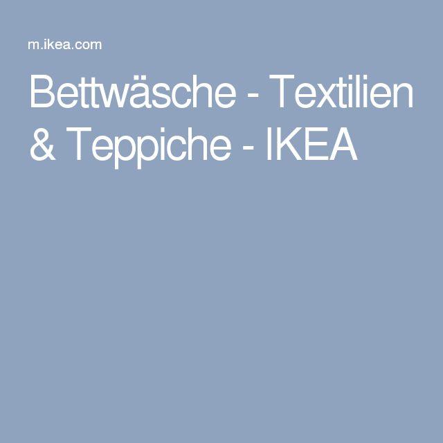 Bettwäsche - Textilien & Teppiche - IKEA