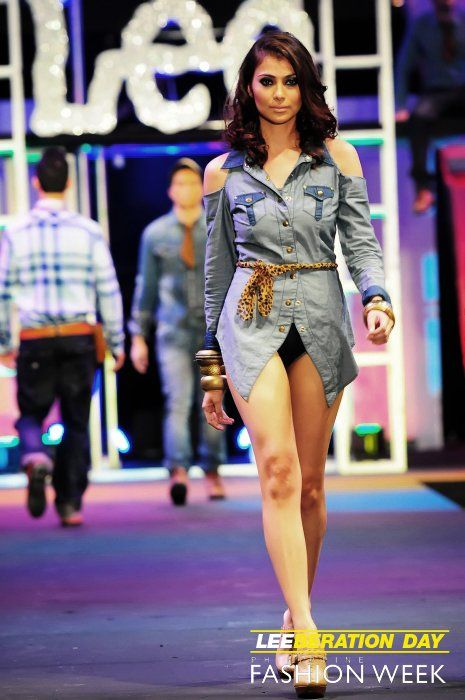 Lee Jeans for Philippine Fashion Week (button-down by Erika Hoffmann)
