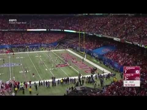 ▶ 2015 Sugar Bowl: #4 Ohio State vs. #1 Alabama (College Football Playoff Semifinal) - YouTube
