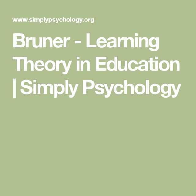 bruner constructivist theory Noted psychologist jerome seymour bruner, born on october 1, 1915, in new  york city, wrote extensively about the theory of cognitive learning in educational .