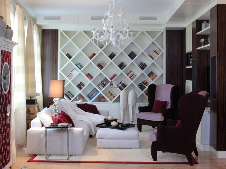 http://taizh.com/wp-content/uploads/2014/11/Awesome-white-wooden-shelves-ideas-on-the-wall-in-living-room-with-fancy-chandelier-and-lamp-desk-beside-sofa-and-dark-brown-chair-and-white-fur-urg.jpg