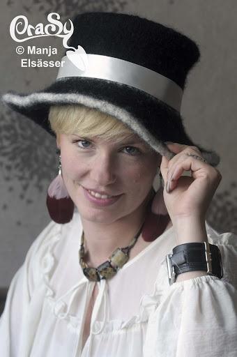 CraSy, Kopf und Kragen - Sylvie Rasch - Modell Zorraine