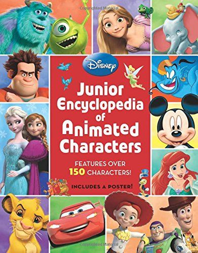 Junior Encyclopedia of Animated Characters by Disney Book...only $7.97
