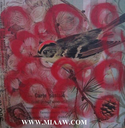 Miaaw.com  #art #artist #paintings #oil #birds #smallbirds