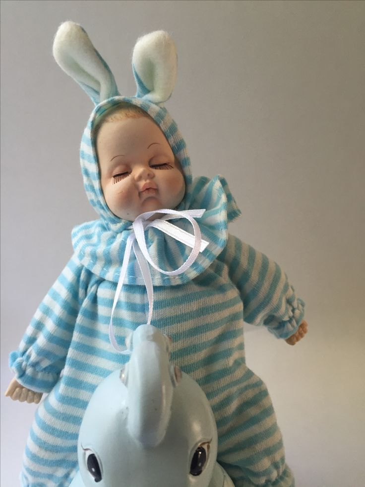 Spaarpot #baby op hobbelpaard #kraamkado