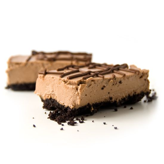 Our Chocolate Cheesecake has nutritious ingredients like organic spelt, vegan 'cream cheese', and organic tofu. And we don't use any nasty preservatives or refined sugars.