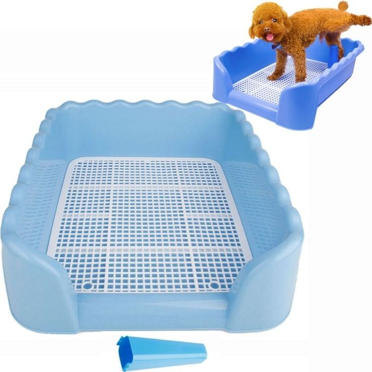 S M L Size Indoor Dog Puppy Plastic Potty Training Fence Tray Pad Pet Pee Toilet #Beiqi