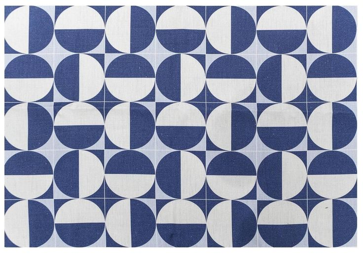 """Gio Ponti """"Eclissi"""" Fabric. Made in Italy, Busto Arsizio. 1950/2010. Official…"""