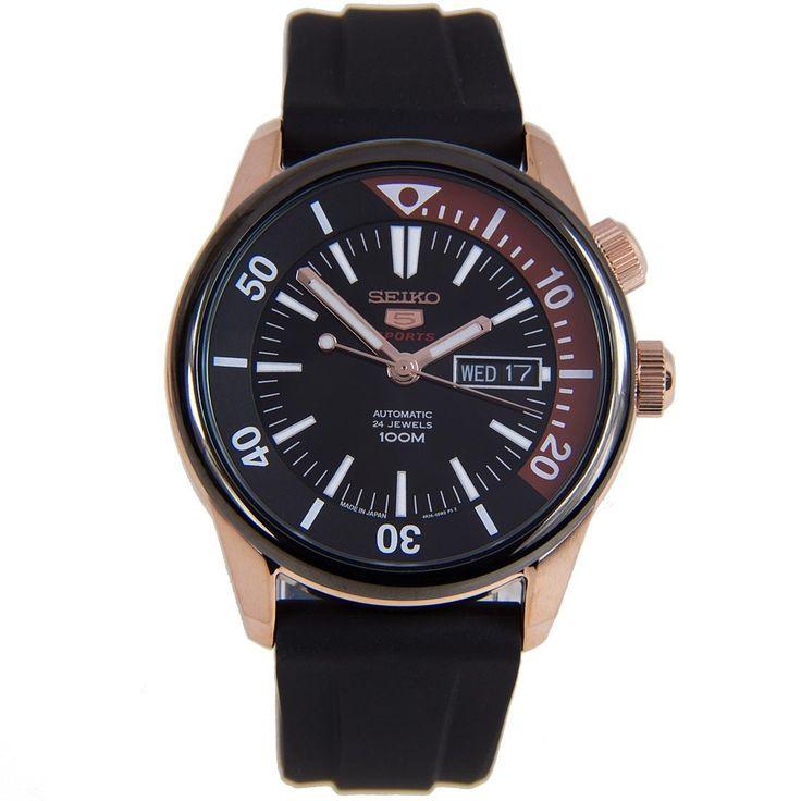 A-Watches.com - SRPB32J1 SRPB32 Seiko 5 Sports Analog WR100m Gents Black Rubber Bracelet Watch, $199.00 (https://www.a-watches.com/srpb32j1-srpb32-seiko-5-sports-analog-wr100m-gents-black-rubber-bracelet-watch/)
