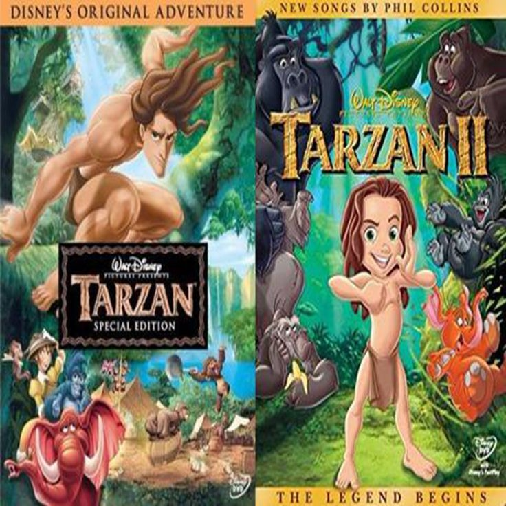 Tarzan 1 & 2 (DVD)