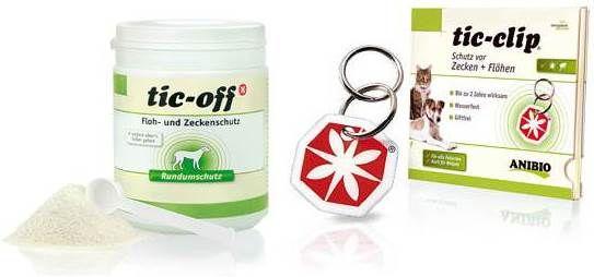 ANIBIO TIC CLIP (1 ST)>VLOOIEN | TEKEN | WORMEN>VOOR DE HOND>GEZONDHEID>Via Natura | Gespecialiseerd in hond en kat, natuurlijke voeding, natuurdrogist