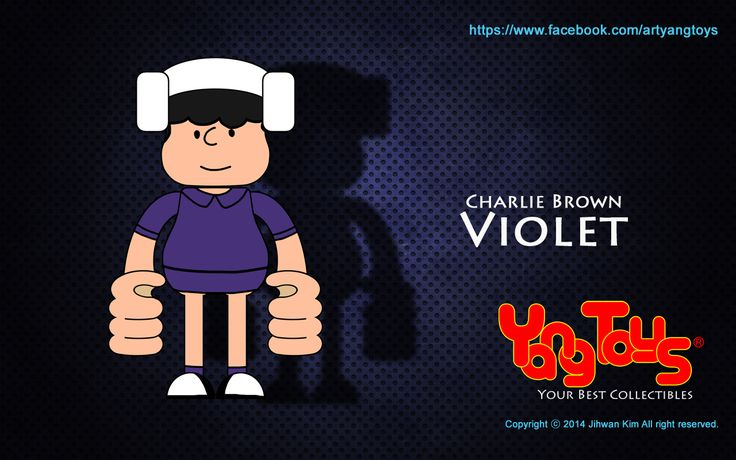 Charlie Brown - Violet