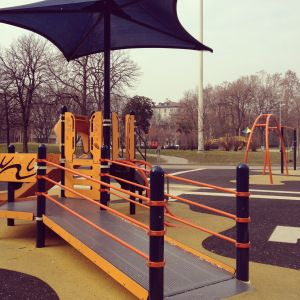 Milan playground disables