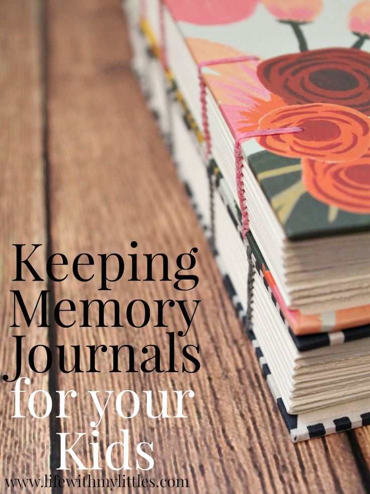 Use a memory journal to record special moments as your child grows, then give it to them when they graduate. Way better than keeping a baby book!