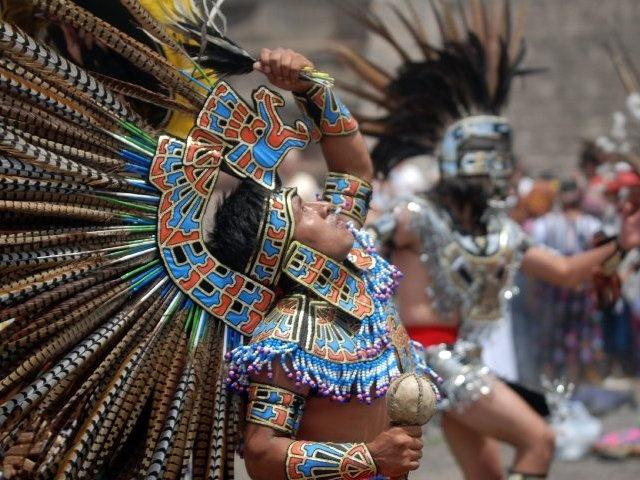 Danzante mexica.