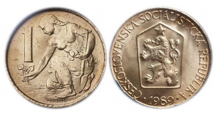 Mince 1 Kčs