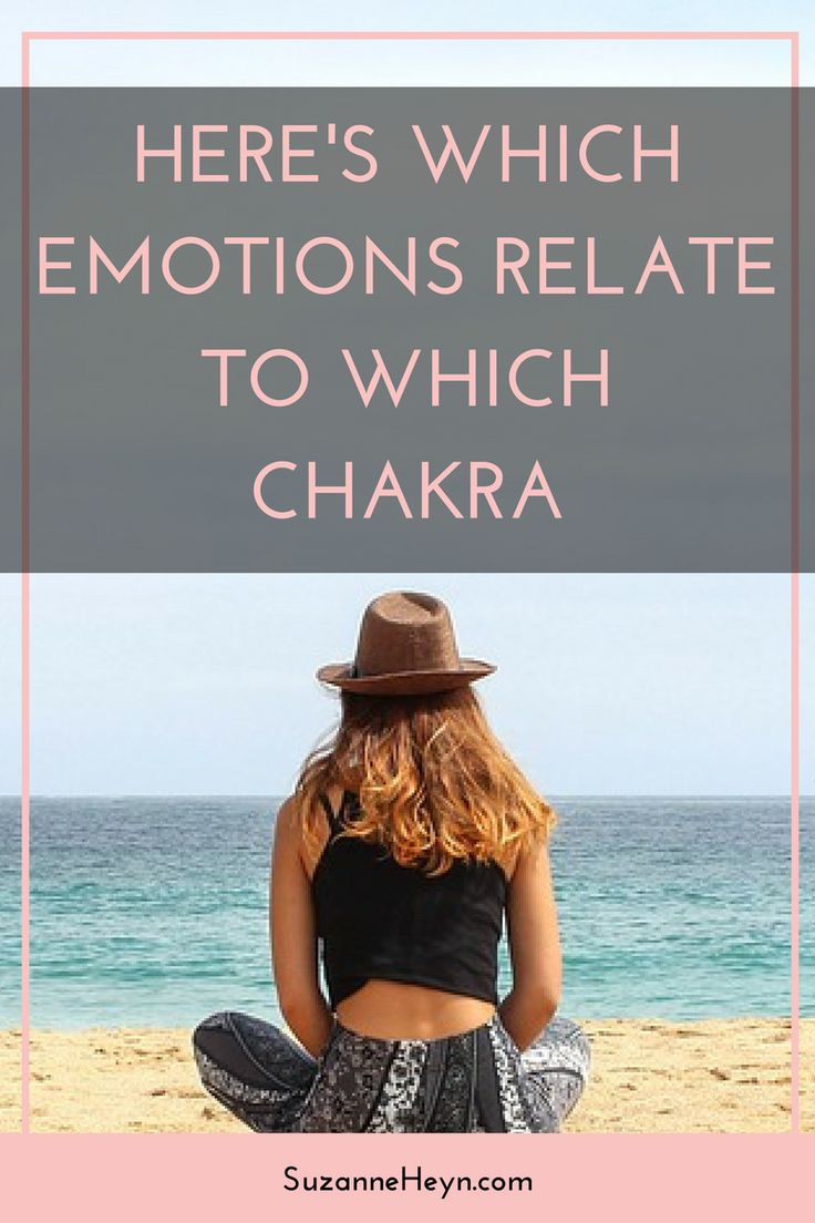 Click through to discover how the chakras and emotions relate. Spirituality meditation happiness depression anxiety healing