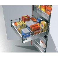 """Tandembox Высокий внутренний ящик – 1 релинг – """"B"""" Выдвижные кухонные ящики Тандембокс Блюм (Tandembox Blum)"""