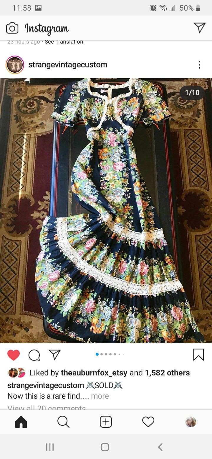 Pin By Audrey Bozeman On C Blck Prairie Dress Black Floral Clothes