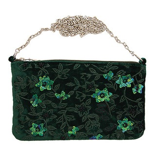 Make a dramatic statement when you go out of an evening this winter with our fabulous Clematis evening bag.