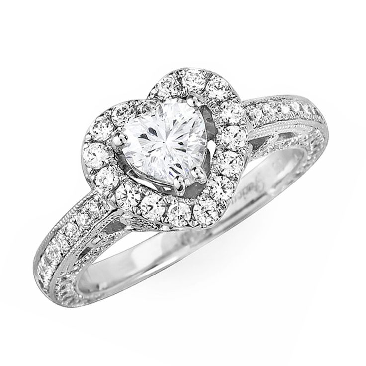 heart shaped engagement rings for sale 16 - Wedding Rings On Sale