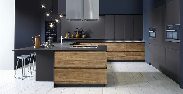 131 best küche images on Pinterest Kitchen ideas, Kitchen modern - Wandfarbe Zu Magnolia Fronten