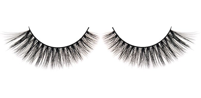 BREEZY $30 FEMME FATALE 3D Angel Silk Strip Lashes Made of synthetic mellow fibres that mimic the texture of real mink fur. The thin and tapered fibres are placed in 2 layers on the soft lash band, giving the lash an emphasized fluffiness and feminine effect. Reusable up to 30 times 100% animal cruelty free Hand crafted Top quality