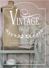 Jeanne d'Arc vintage møbelmaling