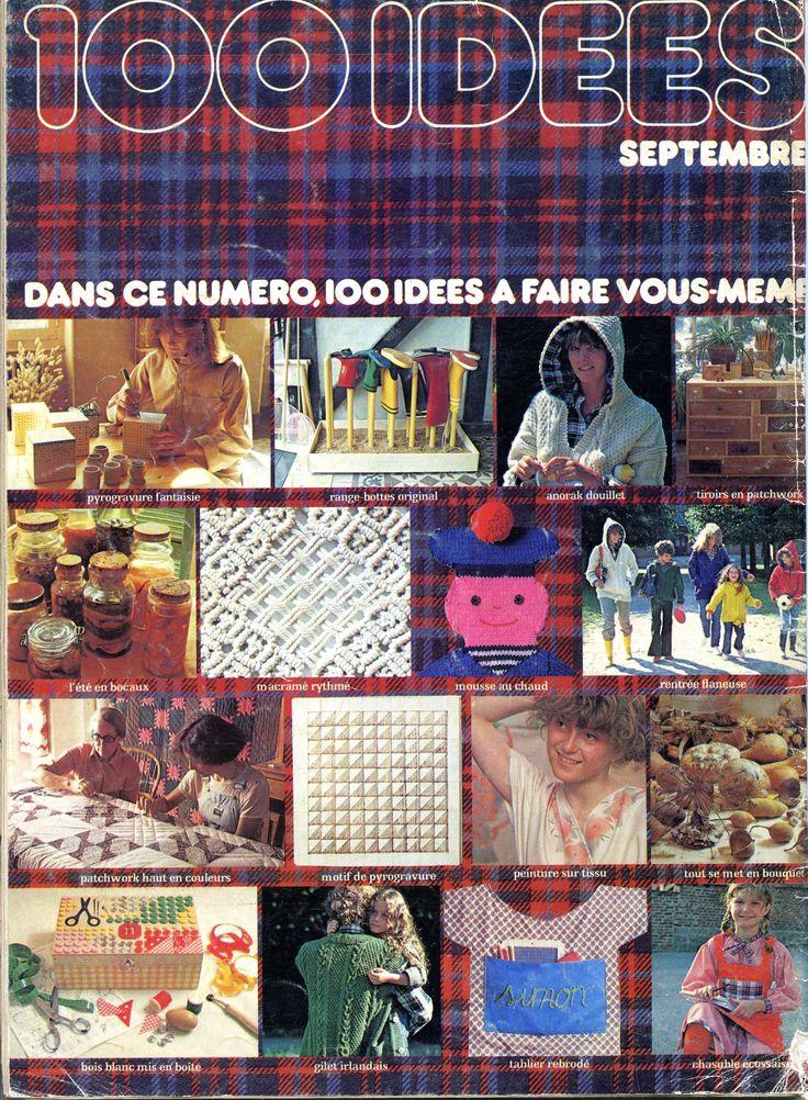 100 idées n° 35 - septembre 1976 4ème de couverture